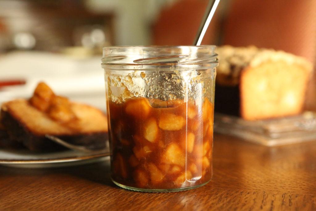 recette compote de poire