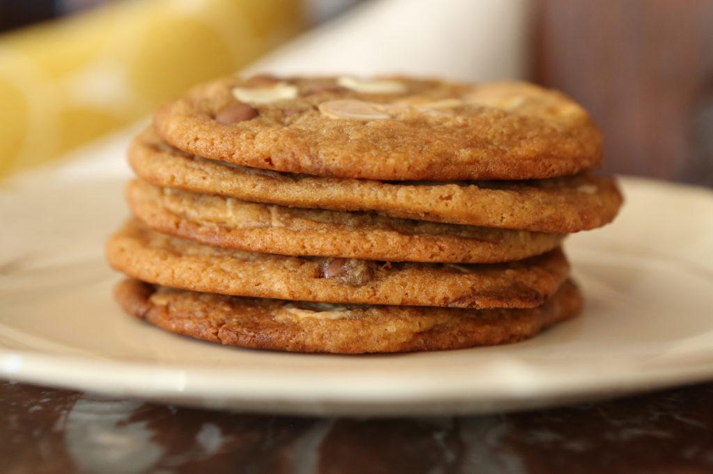 recette de cookies très moelleux