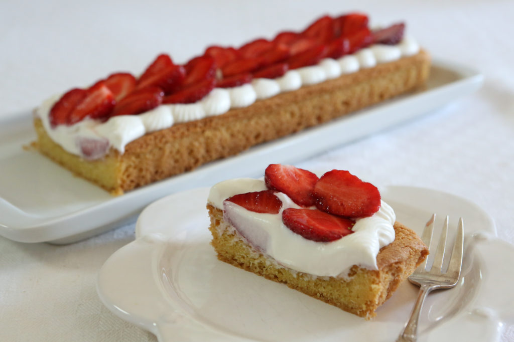 Tarte aux fraises et à la vanille recette
