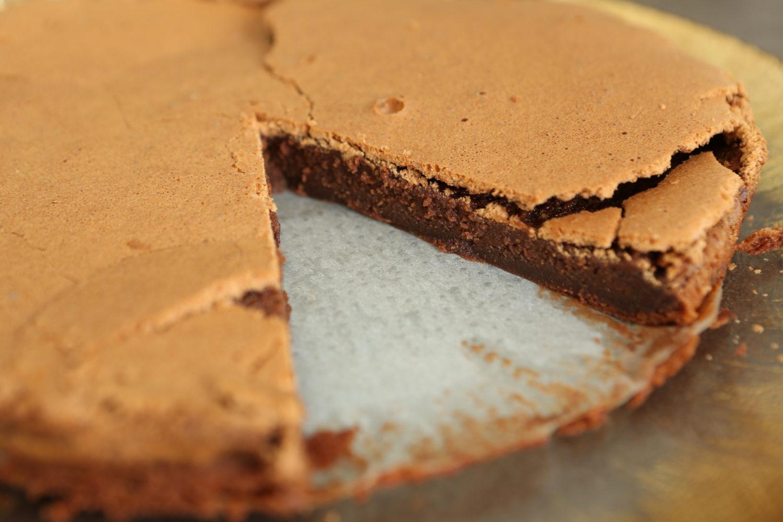 fondant au chocolat et au caramel