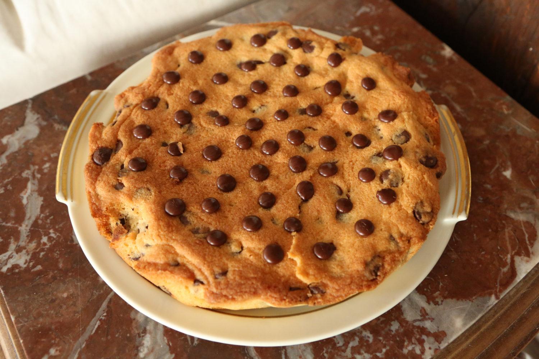 recette de cookie géant à partager