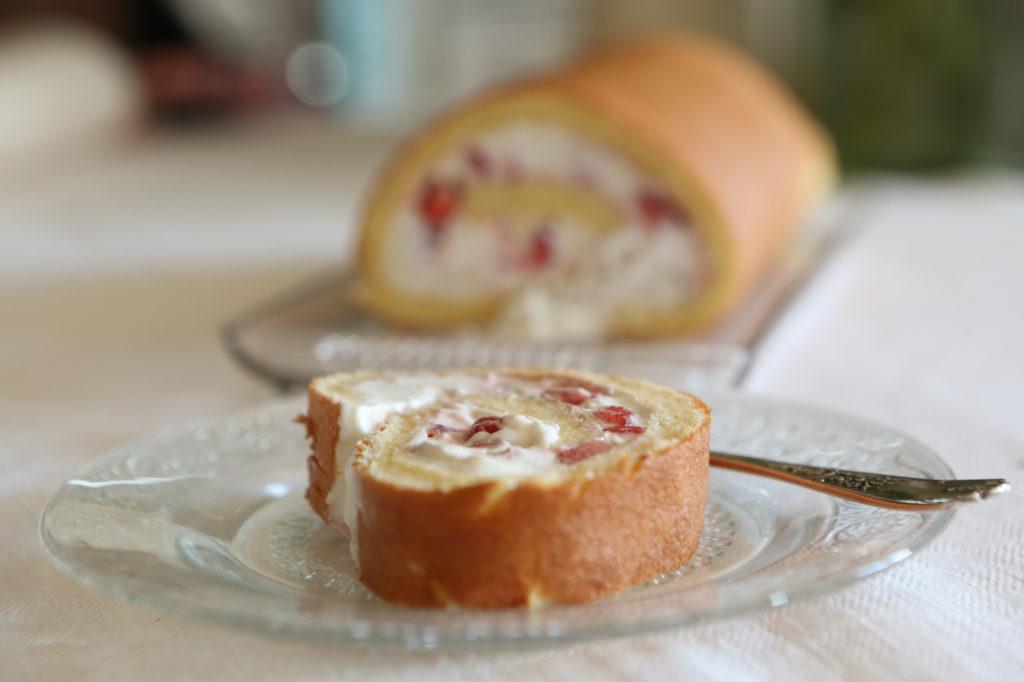 biscuit aux fraises