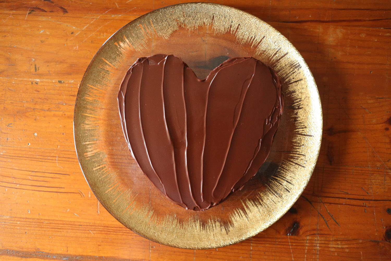 gâteau ou fondant au chocolat