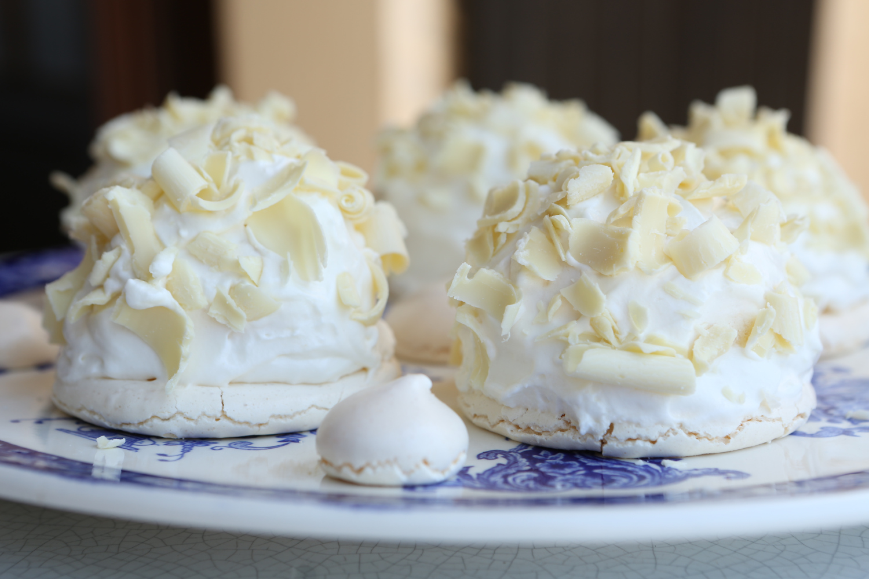 merveilleux au chocolat blanc