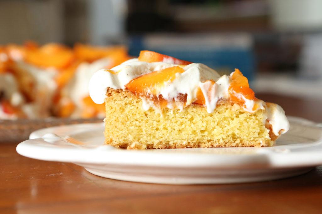 tarte aux abricots et aux brugnons
