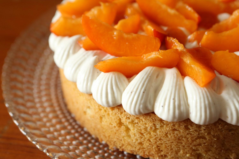 tarte abricot vanille