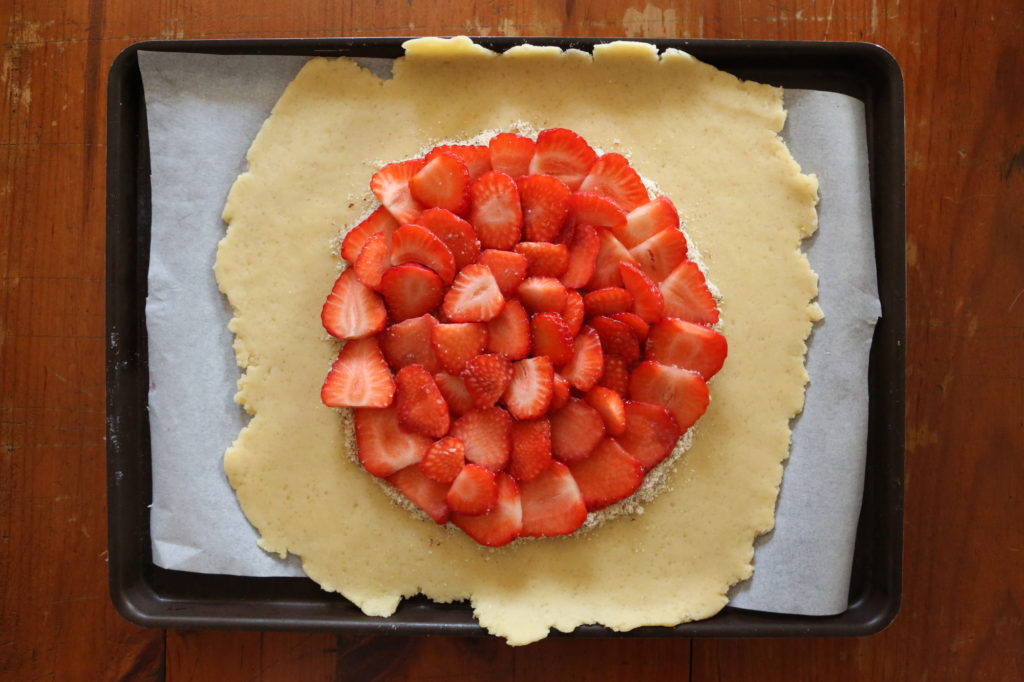 recette avec des fraises