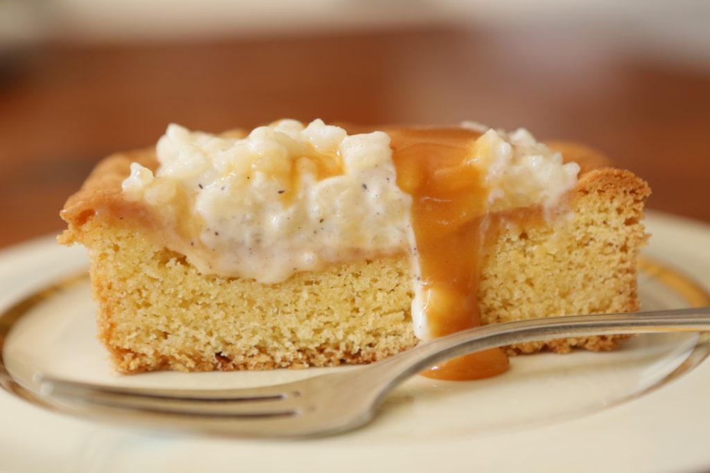 tarte au caramel et à la vanille revisitée